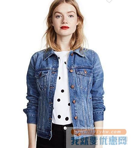 倪妮同款 Madewell Denim Jacket 牛仔夹克